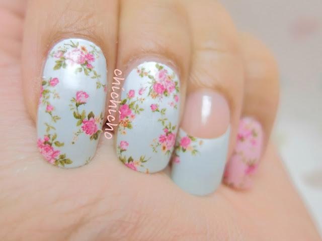 Vintage Floral Nail Wraps
