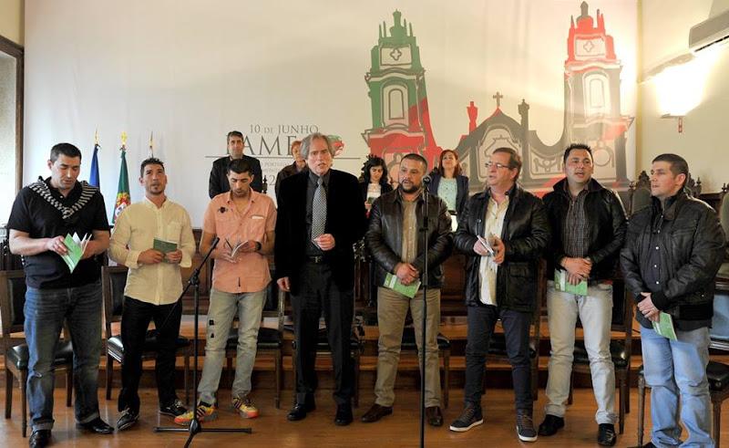 Fernando Marado e amigos detidos apresentaram