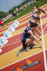 Premier meeting d'athlétisme au stade bigouden - 12 avril 2014