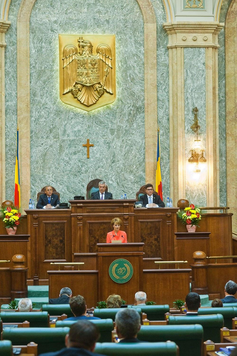 Principesa Margareta, discurs în Senatul României