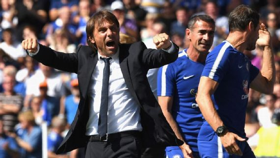 Chelsea vs. Man City: Conte challenges Hazard to repeat performance against Athletico