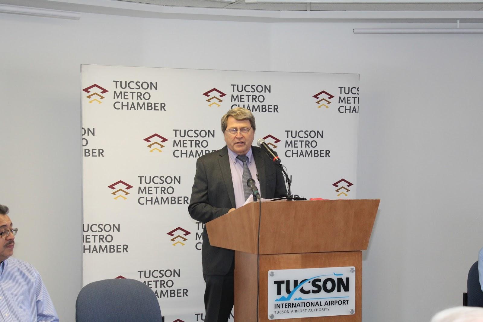 Tucson - JFK Non-Stop Route Announcement - IMG_3169.JPG