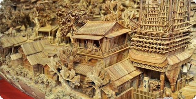 Zheng Chunhui's stunning wood sculpture-4