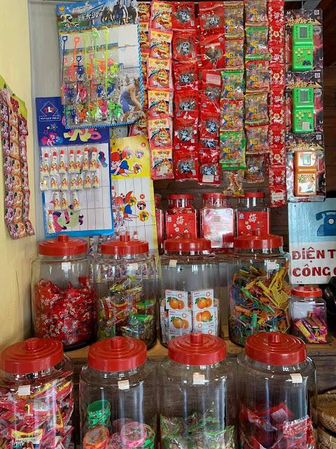 Cửa hàng cô Bông ở Cối Xay Gió