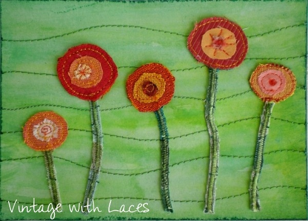 ICAD Mixed Media by Vintage with Laces