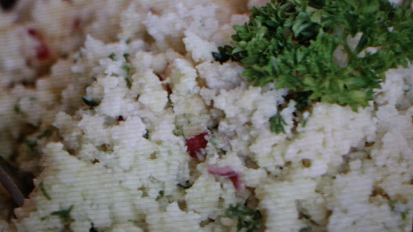 Raw Cauliflower Tabouli Salad Recipe