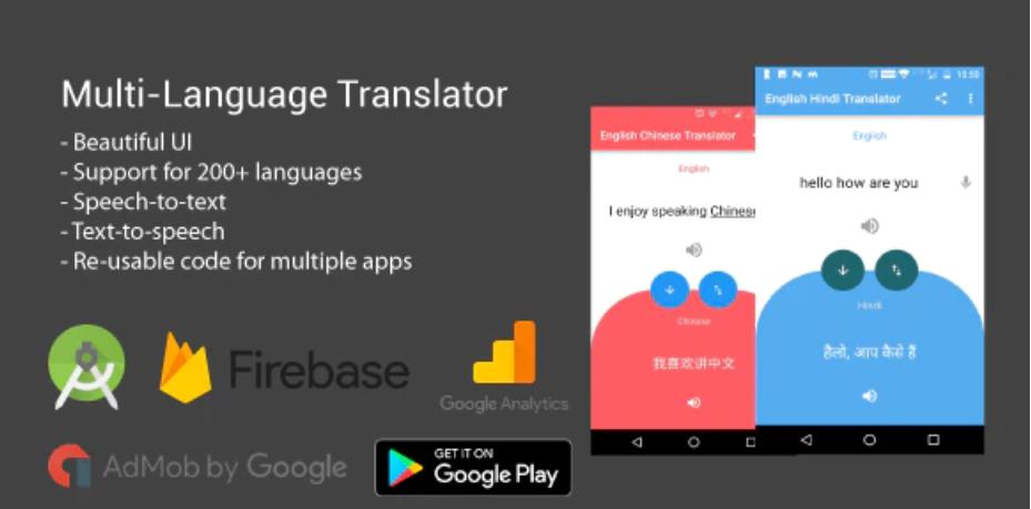 Language Translator App Source Code