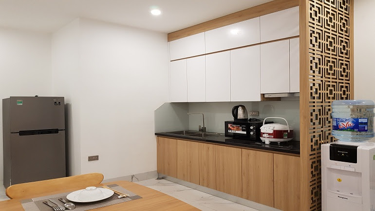 Brand new one bedroom apartment in Hoang Hoa Tham street, Ba Dinh district for rent