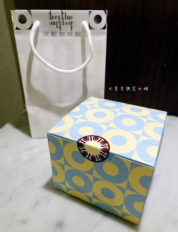 17 台南 深藍咖啡館 千層蛋糕