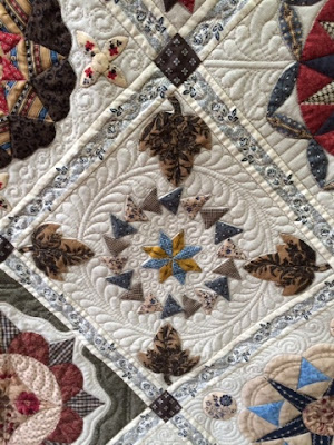 Antique Wedding Sampler revisited quilt Di Ford