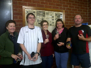 Racquet Ball Competition Winners