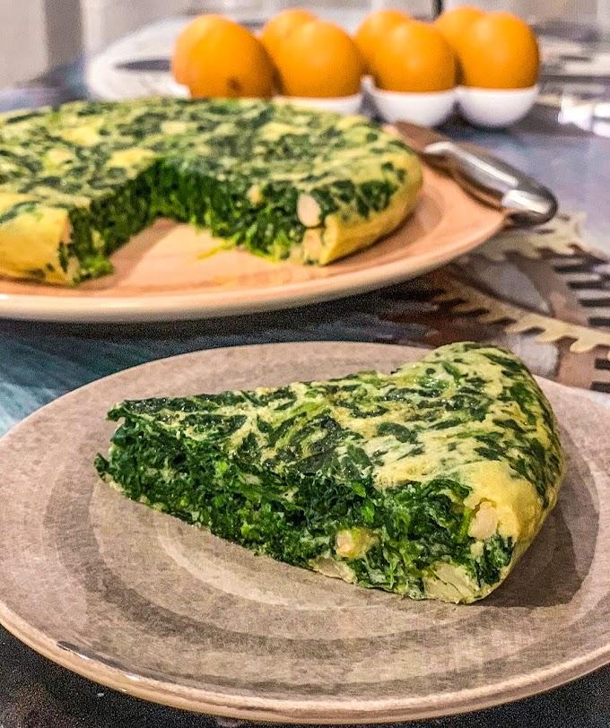 Spinach Omelette Recipe | Breakfast Care