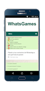 Games for whatsapp - náhled