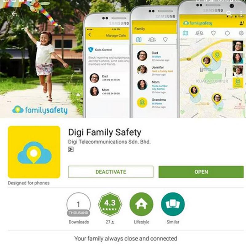 Aplikasi Terbaik Pantau Keselamatan Keluarga dari Digi !