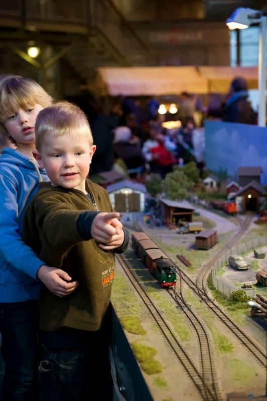 Spoorwegmuseum modeltreinen
