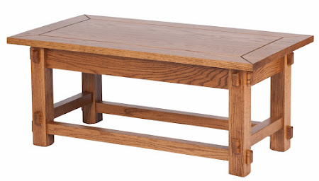 Cambridge Coffee Table in Lexington Oak
