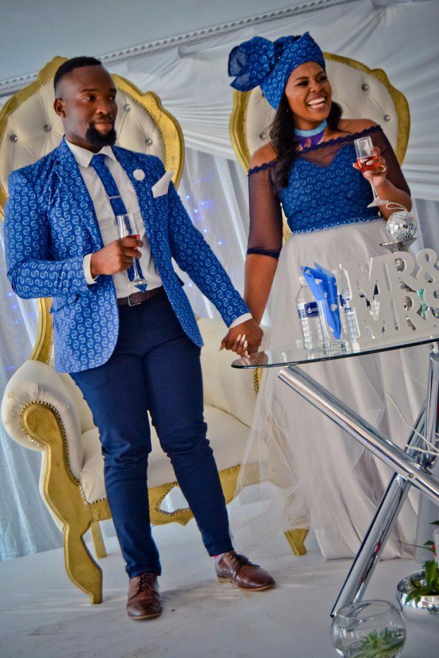 Traditional Shweshwe Dresses For Wedding 2019 4