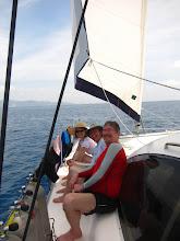 Photo: An easy sail to Cooper Island