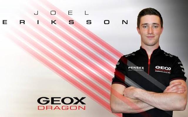 JOEL ERIKSSON RETURNS TO THE DRAGON / PENSKE AUTOSPORT F-E TEAM AS A RESERVE DRIVER, APPOINTING DOUBLE RACE IN PUEBLA E-PRIX