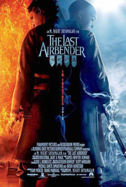 Poster Of The Last Airbender (2010) Full Movie Hindi Dubbed Free Download Watch Online At Alldownloads4u.Com