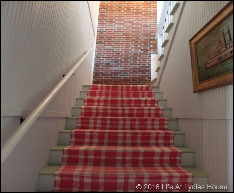 third floor stair runner
