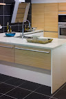 Polished Beach Iceberg Kitchen worktops 20 + 20mm Edge profile