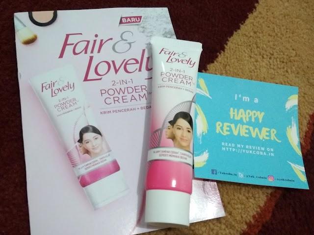 [Review] Fair n Lovely 2 In 1 Powder Cream