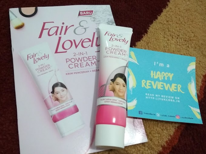 [Review] Fair n Lovely 2 In 1 Powder Cream
