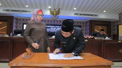 Tiga Raperda Kota Tangerang Disahkan