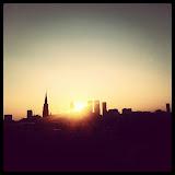 Den Haag sunrise