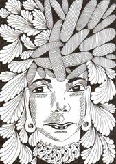 574 Zentangle Maya