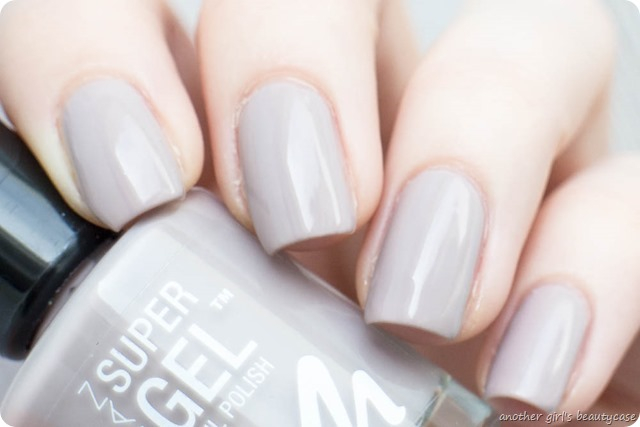 Manhattan Super Gel Nail Polish Swatch Erfahrungsbericht sweet side time for taupe berry love mauvelicious