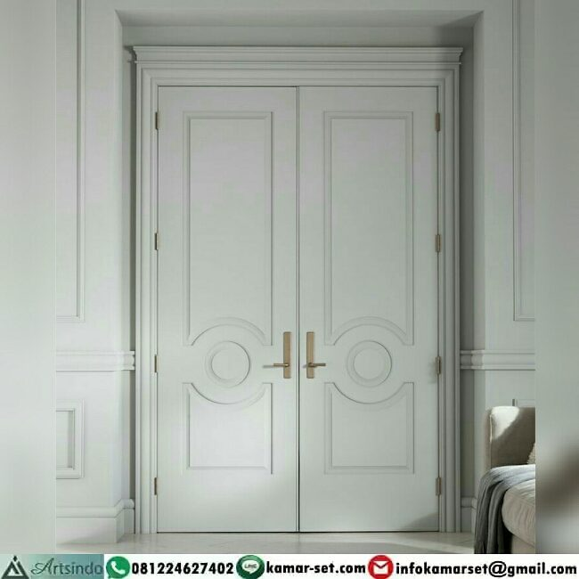 model 1 pintu rumah minimalis