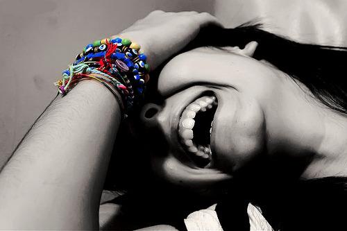 Rir até doer à barriga