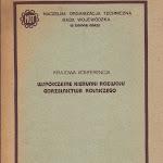 """""""Współczesne kierunki rozwoju gorzelnictwa rolniczego"""", NOT, Zielona Góra-Łagów Lubuski 1988.jpg"""