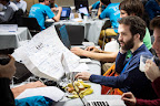 German team Liquid during EUhackathon 2014 at Googleplex in Brussels, Belgium on 02.12.2014