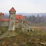 Макет Динабургского замка