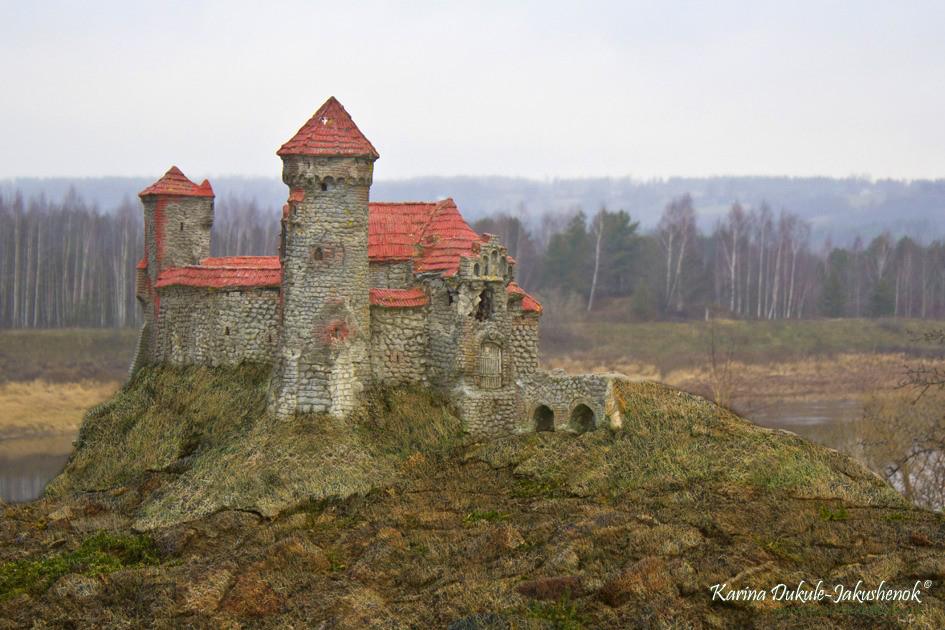 Макет Динабургской крепости