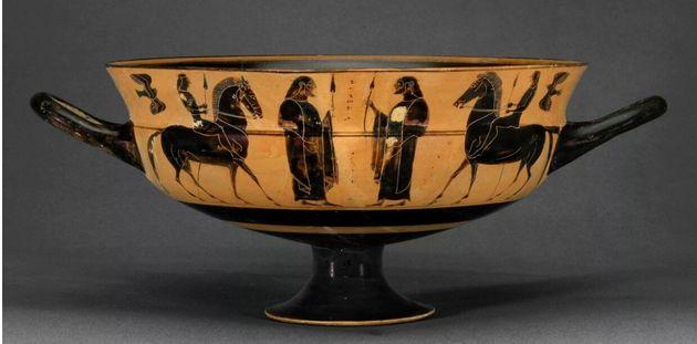 Ελληνας ερευνητής αποκαλύπτει παράνομο αγγείο στο μουσείο Allard Pierson