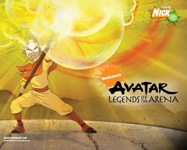 Aang, Legends Of The Arena