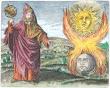 Hermes Trismegistus From Maier Symbola Aurea Mensae Franckfurt 1617