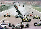 Luciano Burti crashes into Michael Schumacher at 2001 Grand Prix of Germany at Hockenheim