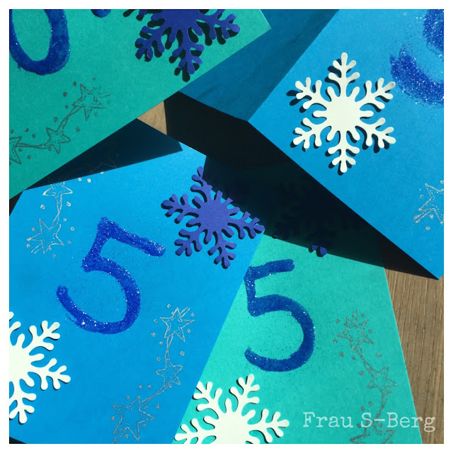 Zum Nosewmonday Heute Zeige Ich Euch Die Einladungskarten Zum  Kindergeburtstag Im Frozen Style. Auf Die Konterfeis Der Zwei Stars Wollte  Ich Verzichten Und ...