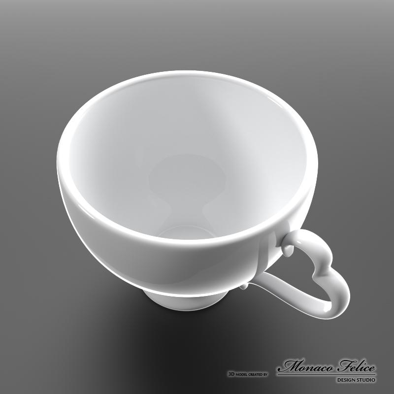 3D Модель Чашка