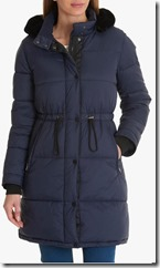 Betty Barclay Quilted Drawstring Coat