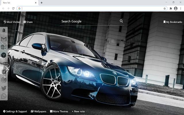 BMW Wallpaper HD New Tab