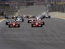 Start 2007 F1 GP of Brazil