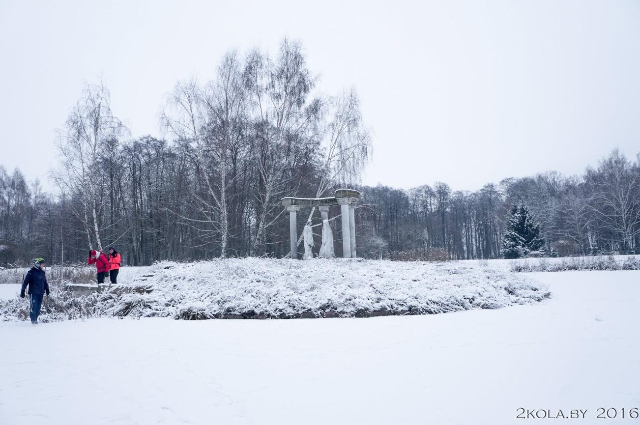 DSC08272 - Зимняя покатушка к резиденции Радзивиллов (Снов-Несвиж-Городея)