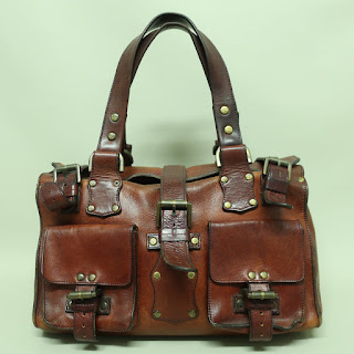 Mulberry Leather Satchel