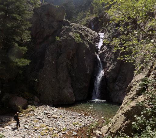 Cascade et vasque de Piscia Vitalba